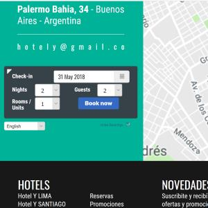Bed & Breakfast sistema de reservas de sites